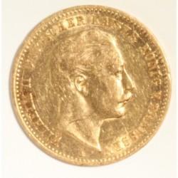 Goldmünze Wilhelm deutscher...