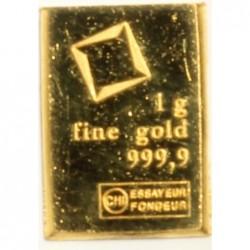 Goldbarren 1 Gramm CHI