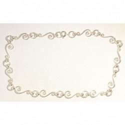 925 Silber Fußkette...