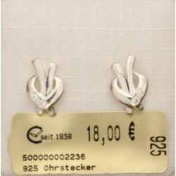 925 Ohrstecker poliert 4...