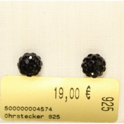 Ohrstecker 925 rhod.