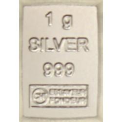 Silberbarren 1 Gramm