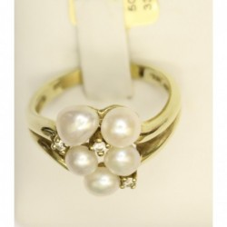 Ring 333 Gold  Perle -...